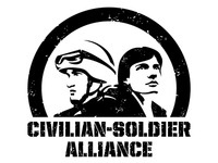 Civilian Soldier Alliance / full title logo