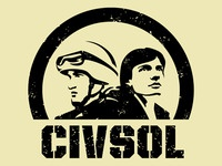 Civilian Soldier Alliance / acronym logo variation