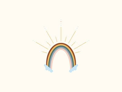 Boundless Radiant Rainbow color design colors colorpalette color avatar icon vector branding children book illustration stationery design fine art artwork design illustration