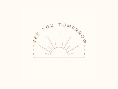 Boundless See You Tomorrow branding vector typography children book illustration stationery design fine art artwork design illustration suicide global suicide awareness
