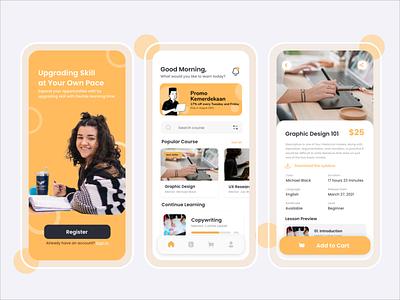Online Course App design uiux ui studyapp study online course course education