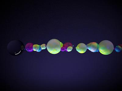 CG Bubble Abstract Animation animation abstract 3d art 3d 3d animation cinema4d