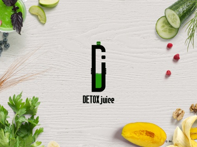 DETOX JUICE | Logo available