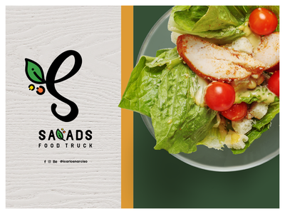 Salads FT | Visual identity concept vector logo dribbleweeklywarmup diseño gráfico branding carlos narciso digital art designer design graphic design