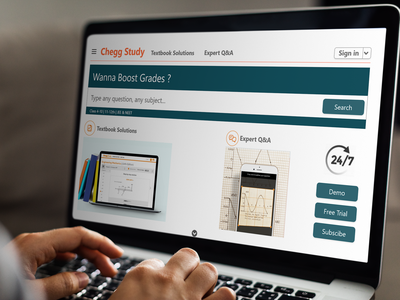 Home page redesign - chegg.study design uxresearch uxdesign ux