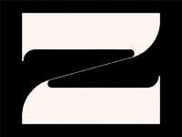 Z logo lettermark typographic letters typo typography type letter z lettering letter
