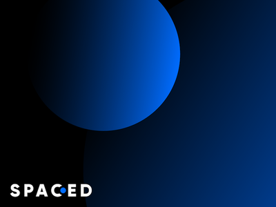 SPACED branding (2/2) planet astronaut space challenge branding spaced spacedchallenge