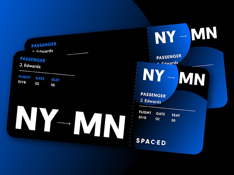 SPACED Tickets tickets logo spacedchallenge space spaced challenge branding