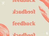 WTLB #6 - feedback, feedback, feedback, feedback