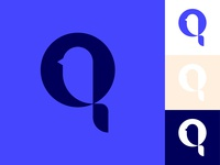 Bird + Q Logo