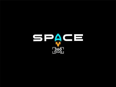 Space 360 Tours graphic design logo and branding logodesign logo