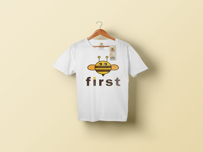 Be first/ t shirt design tshirtdesign tshirts typography minimal illustration logo and branding branding graphic design logodesign