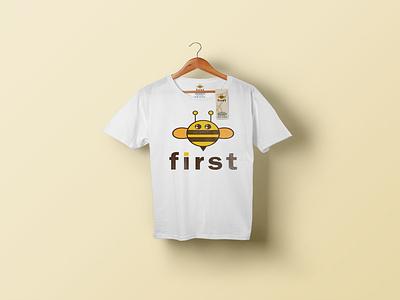 Be first/ t shirt design tshirtdesign tshirts typography minimal illustration logo and branding branding graphic design logodesign