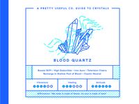 Pretty Useful Co. Guide To Crystals: Blood Quartz