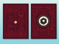 d20 Spinner Enamel Pin Card Design