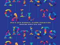 MCA's 2018 Biennial Alumni Call To Artists