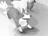 Shepherding Sam Interior Illustration 03