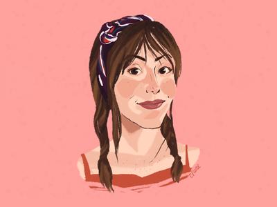 Portrait of Morgan