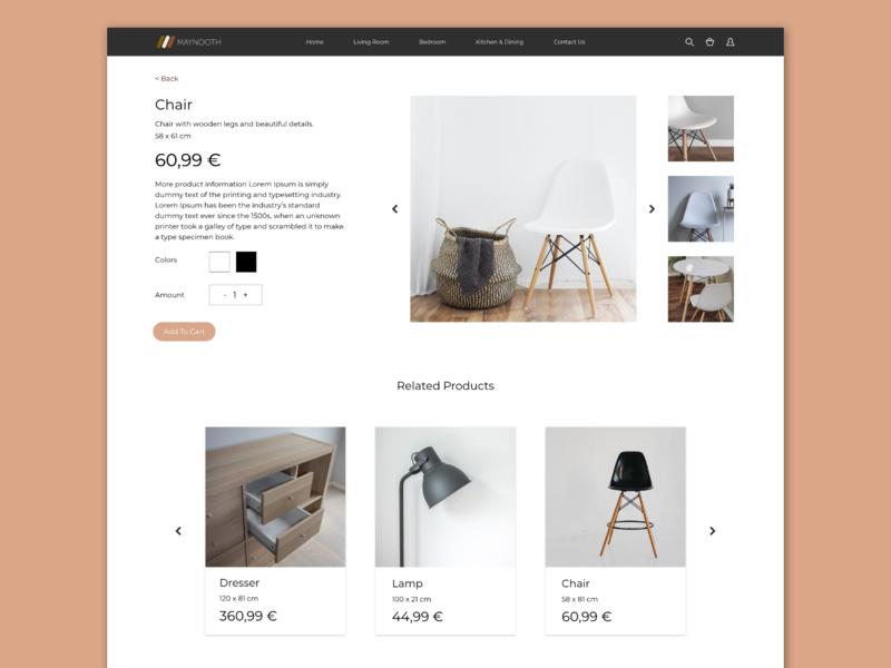 Single Product design ui ux dailyui productpage dailyui012