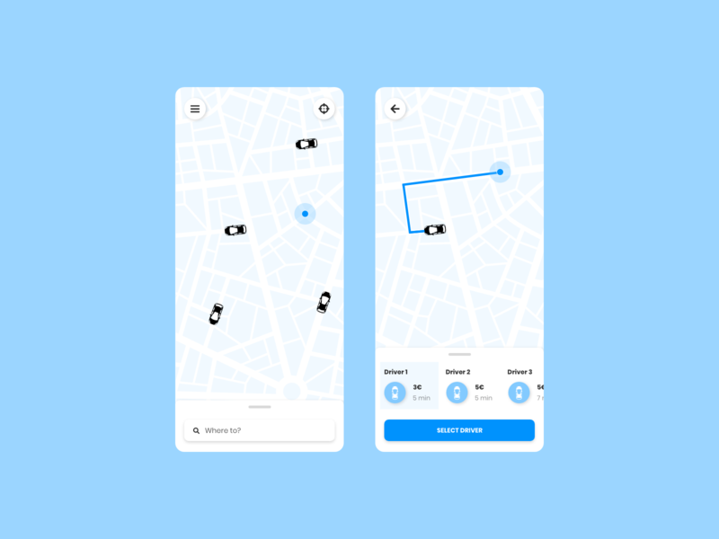 Location Tracker 020 dailyui020 mobile ux ui dailyui tracker location tracker