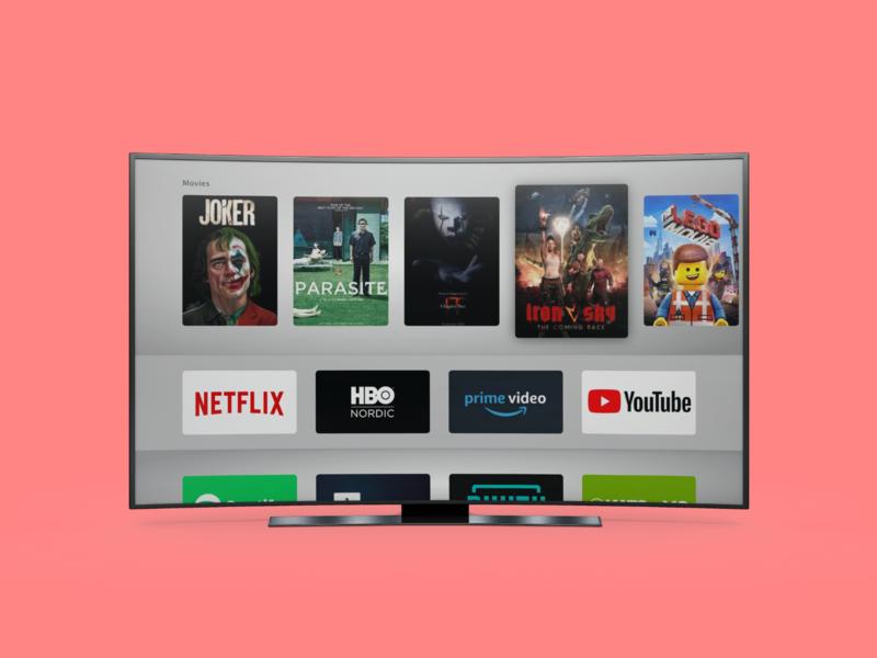 TV App ux ui apps appstore movies 025 dailyui025 dailyui tv app tv