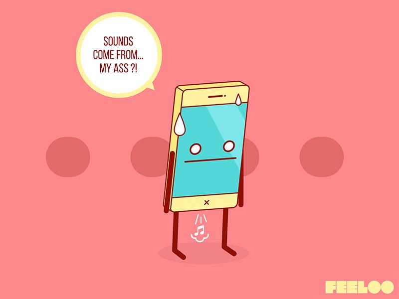 Feeloo - Your Mobile Has Feelings! #39 by SebDub | Dribbble