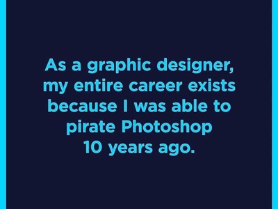The truth ! career photoshop graphic designer