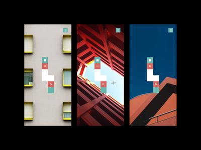 PFPW - Background test (architecture) minimalism design mobile architecture puzzle game ios background