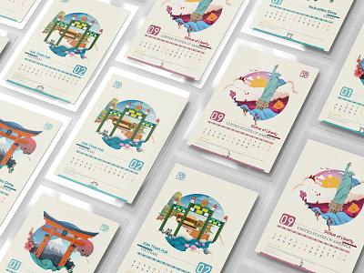 World Cultural Heritage Illustration vector typography idea graphic design graphic design logo design illustration branding