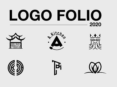 LOGO FOLIO 2020 logo mark logotype logomark logo maker vector badiing logo design graphic design graphic logo design branding