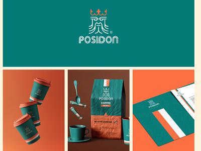 POSIDON- Branding illustration idea logo badiing logo design graphic design graphic design branding