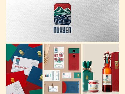 Nguyen branding logo idea badiing logo design graphic design graphic design branding