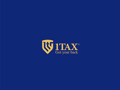 1Tax - Logo logo mark logo badiing idea logo design graphic design graphic design branding