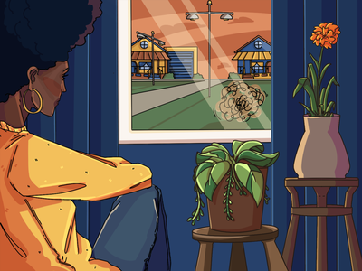 Stay At Home 2d digitalvisual graphic design design illustration