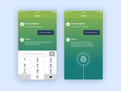 Chat Exploration ios id interaction icons app message design ux ui chat