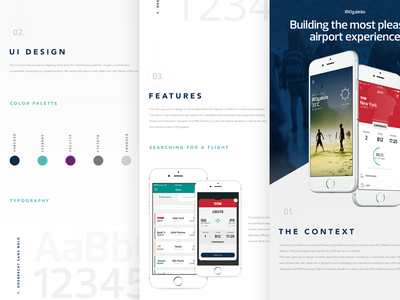 RIOgaleão is out on Behance! experience interaction trip ios mobile design web ux ui flight airport airplane