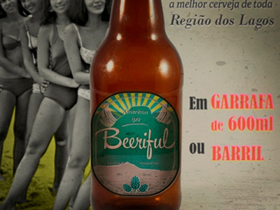 Fantasy poster for the craftbeer BEERIFUL