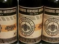 Label for homebrew label rótulo cerveja homebrew