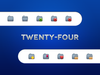 Twentyfor: folders 2