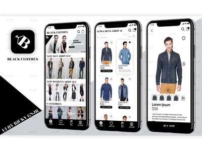 Clothes UI Branding clothes store ui ecommerce ui clothes ui user interface ui mobile ui app app ui  ux ui design