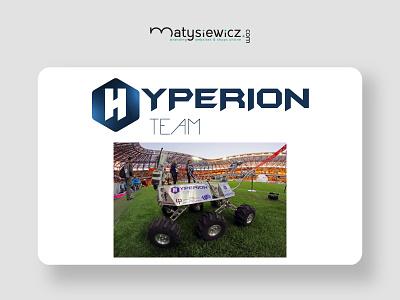 Logo Design: Hyperion Logo typography logo branding brand identity design