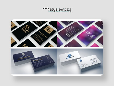 Print design: Business Cards pack business card typography design