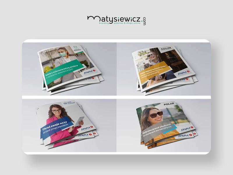 Print design: Folders Pack folders typography design