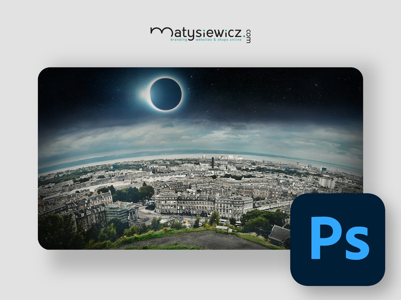 Photo Manipulation: Touch the Sky matte painting photo manipulation photoshop design