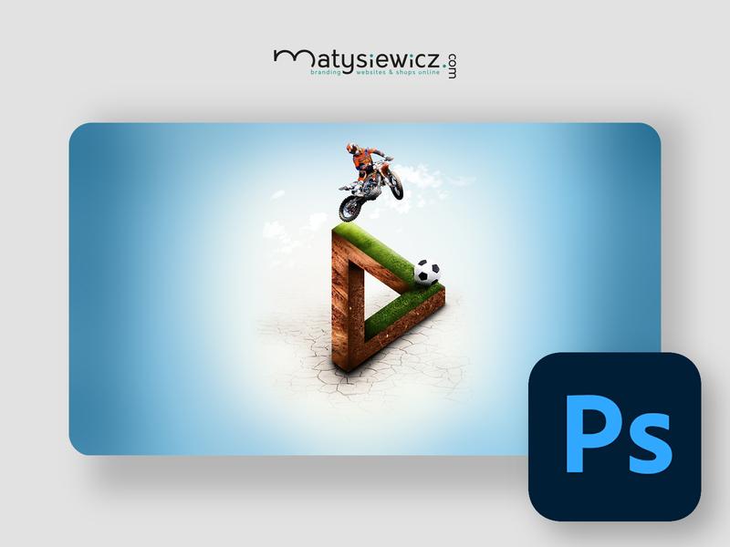 Photo Manipulation: 2D or 3D? matte painting photo manipulation photoshop design