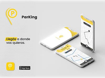 Parking Mobile App UX/UI design project prototype photoshop motion logo illustrator figma casestudy branding app adobe xd illustration