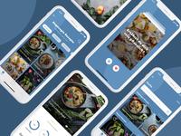 Recipe App - Dribbble Debut