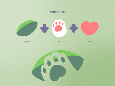Patitas | Visual Identity petfood organic food organic marca logotype logotipo logo food dog cute cat logo cat branding band design band