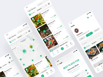 Best Place For - You, to Find your Best food app uiuxdesign food and drink food app food app design uidesign design