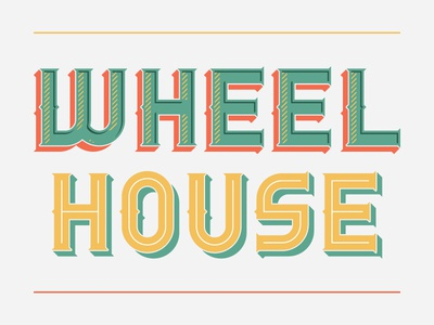 Wheelhouse Typeface, again